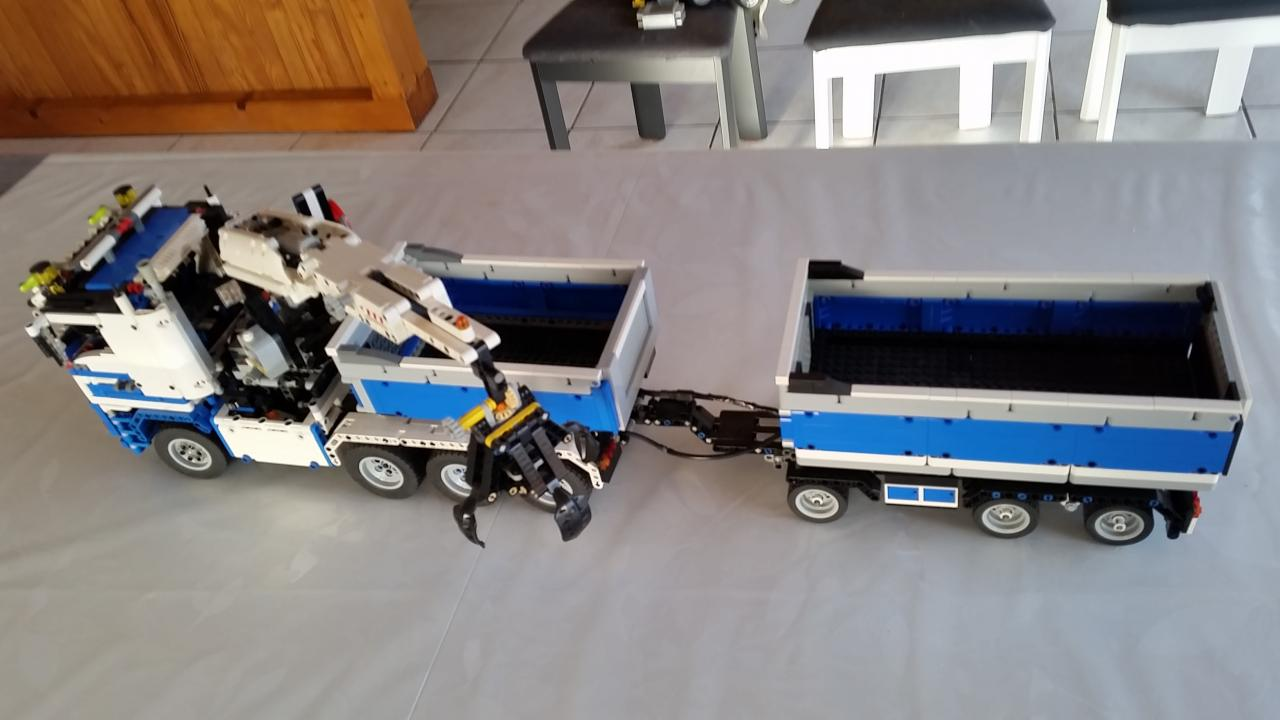 rc lego semi truck rc rc remote control helicopter airplane car and drone. Black Bedroom Furniture Sets. Home Design Ideas